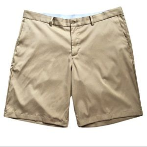 Nike Golf shorts DRI-FIT flat front khaki 38